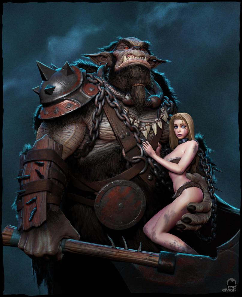 Bugbear Mercenary by muppet-man