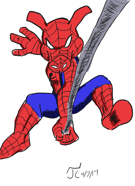 DSC 82 Spider-Ham by Infinity-Joe