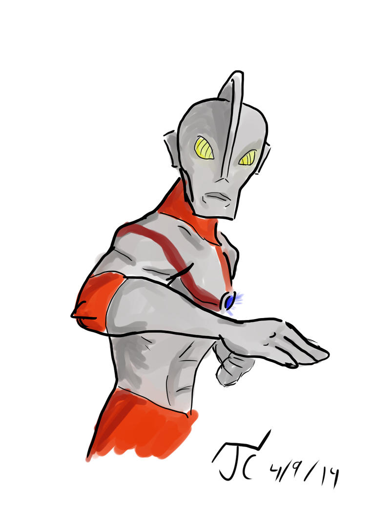 DSC 84 Ultraman by Infinity-Joe