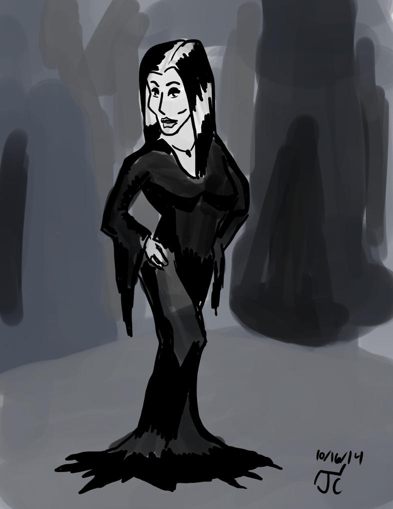 DSC 248 Morticia Addams by Infinity-Joe