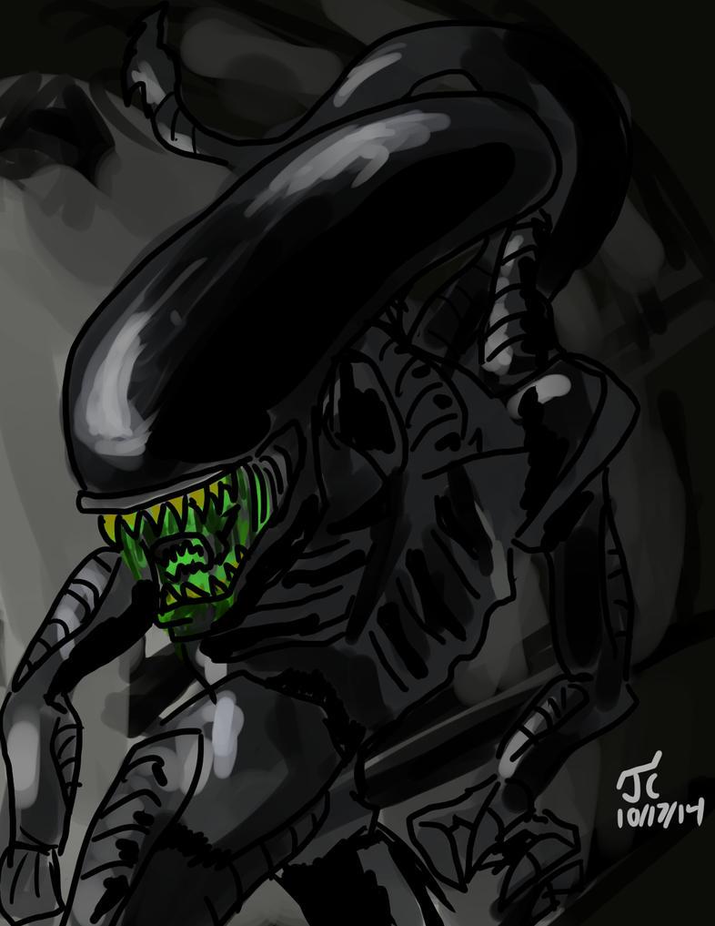DSC 249 Xenomorph by Infinity-Joe
