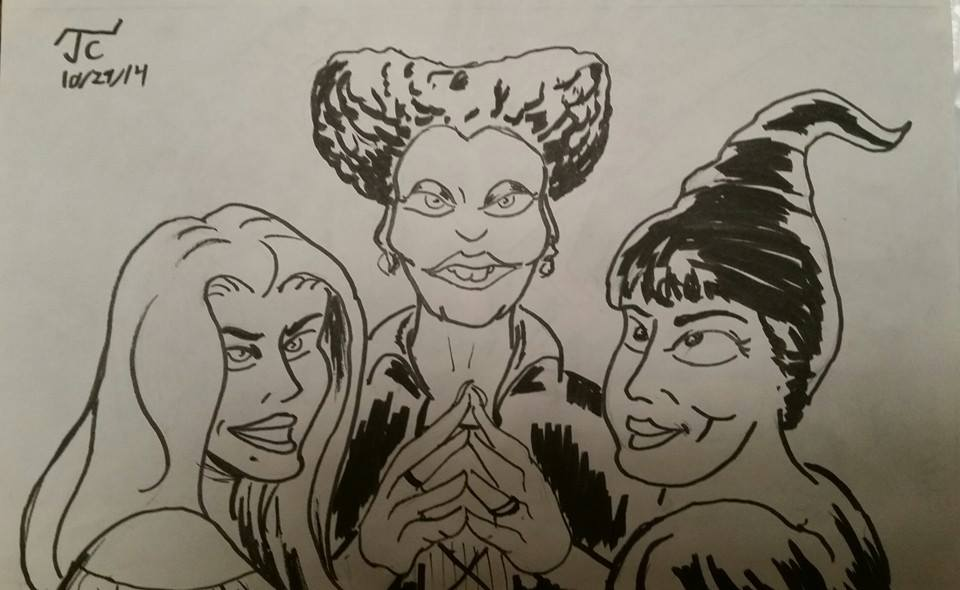 DSC 259 The Sanderson Sisters by Infinity-Joe