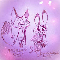 Judys Bouquet From Nick by FeverWildeHopps