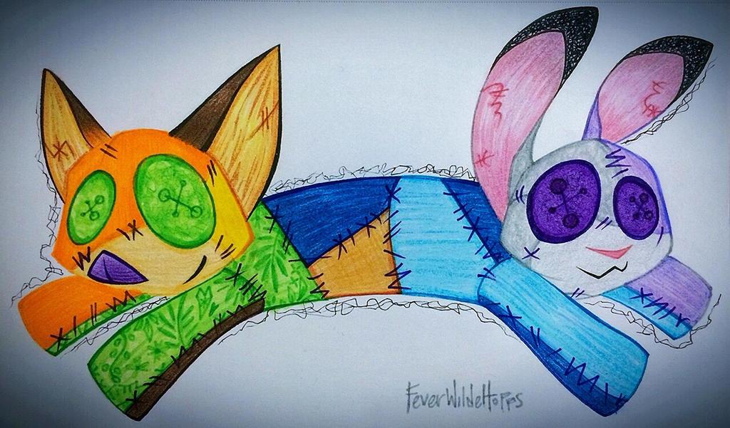 FoxBun by FeverWildeHopps