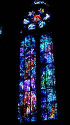 Stained glass Les grandes heures de Reims