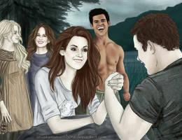 Vampire's armwrestling by AnastasiaMantihora