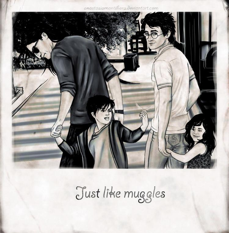 Just like muggles