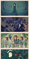 Snape White and the Seven Weasleys
