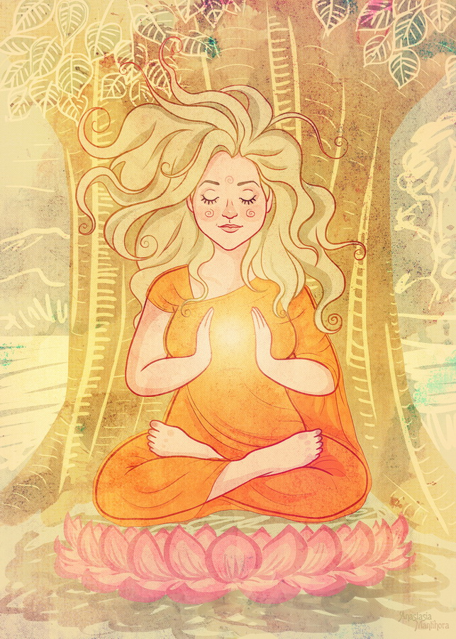 meditation by AnastasiaMantihora