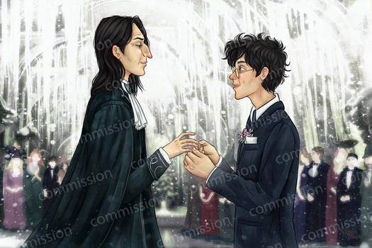 Snarry Wedding