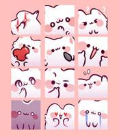 Pech - Discord emotes by Peachdalooza