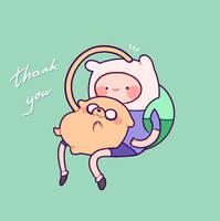 thank you by Peachdalooza