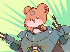 Overwatch - Hammond by Peachdalooza