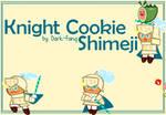 Cookie Run: Tag-Team - Knight Cookie Shimeji