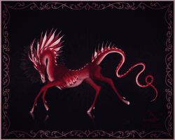Candy Cane Creature by Xievos