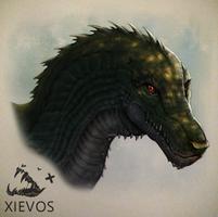 Swamp Dragon by Xievos