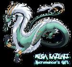Kazeaki - Pokemon style Mega evolution Fanart