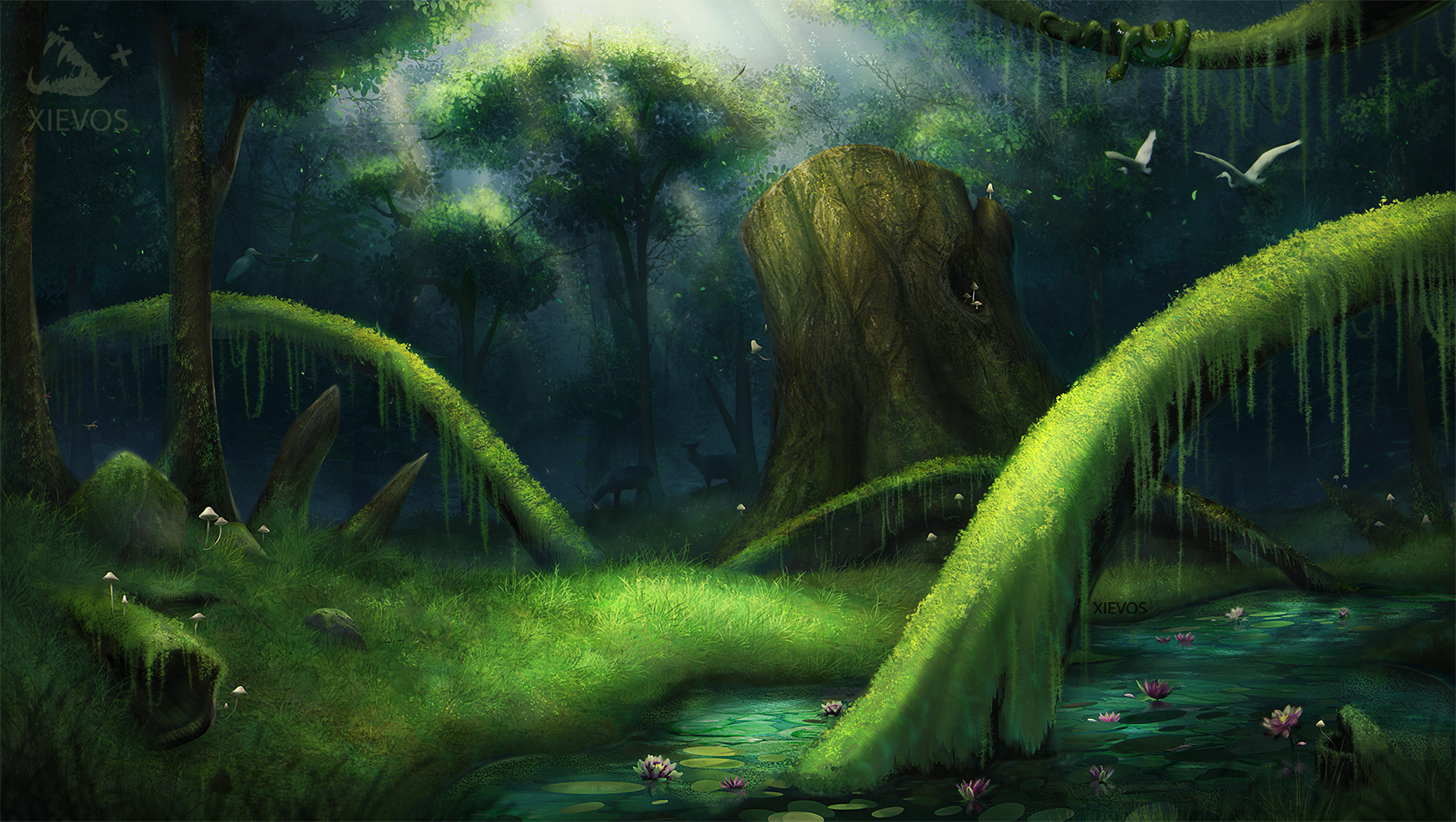 Swamp Landscape Practice