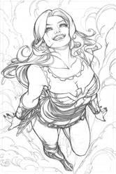 Wonder Girl  pg 1 by AdrianaMelo