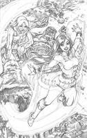Wonder Girl  pg 10 by AdrianaMelo