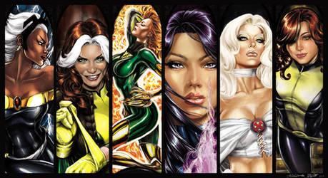 Marvel Ladies pinup 2