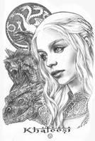 Daenerys PinupsAMelo by AdrianaMelo