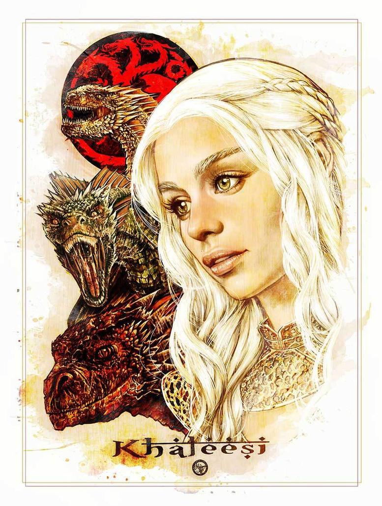 Khaleesi by AdrianaMelo