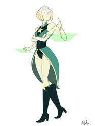 Fan Fusion: Pearl x Peridot