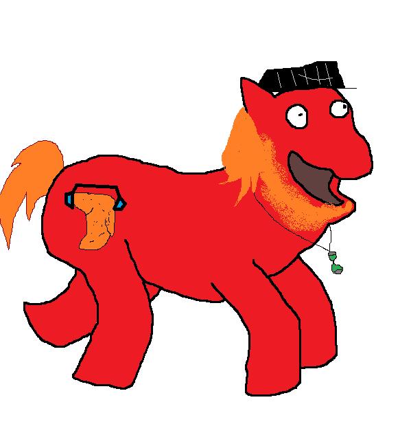 My pony self by pewdie-Twilight