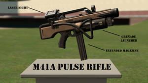 (Gmod) M41A Pulse Rifle (TF2 Edition)