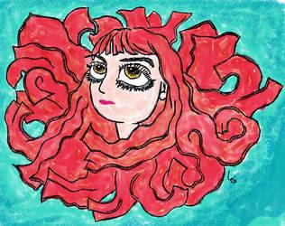 Redhead by leoarteiro