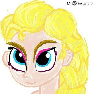 #fanart #Elsa #frozen by leoarteiro