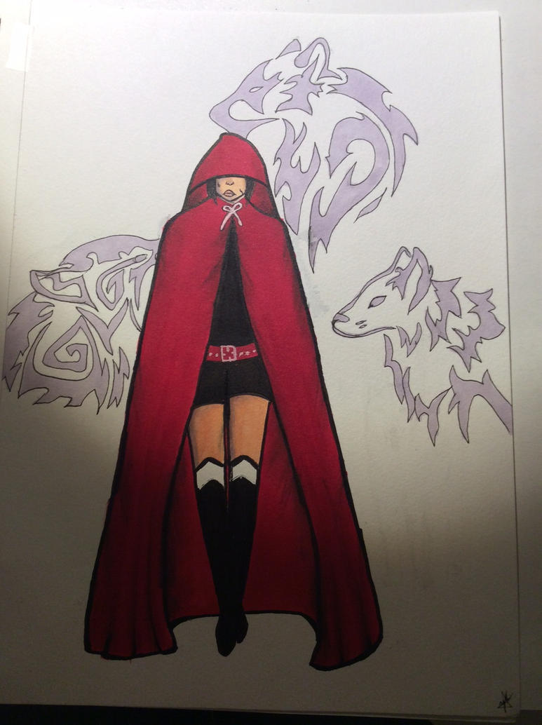Red riding hood by Zebra3Art