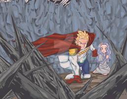 I will Be Your Hero Lemillion protecting Eri