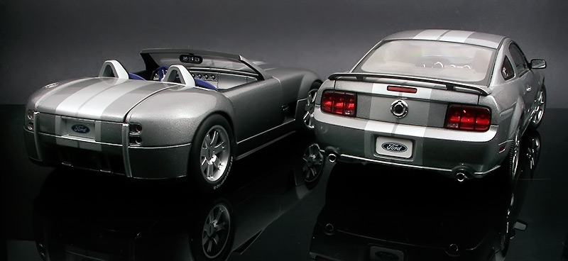 Cobra Concept Vs Mustang Gt  By Fordgt