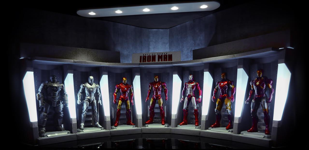 Tony Stark's Garage By FordGT On