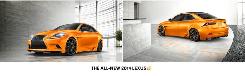 Lexus IS F-Sport SEMA Contest Entry