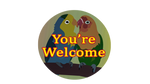 Parrots-thank-you by SnowbirdCreations