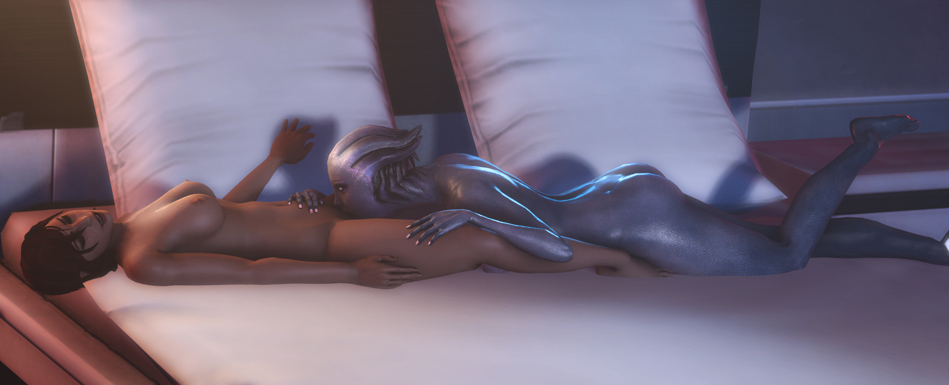 Mass effect 1 nude liara patch fucking movie