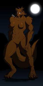Werewolf gal (2021-4-30)