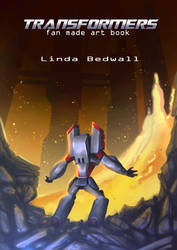 Cower- transformers. fan made art book by LindaBedwall