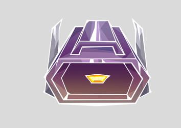 Shockwave. sticker design by LindaBedwall