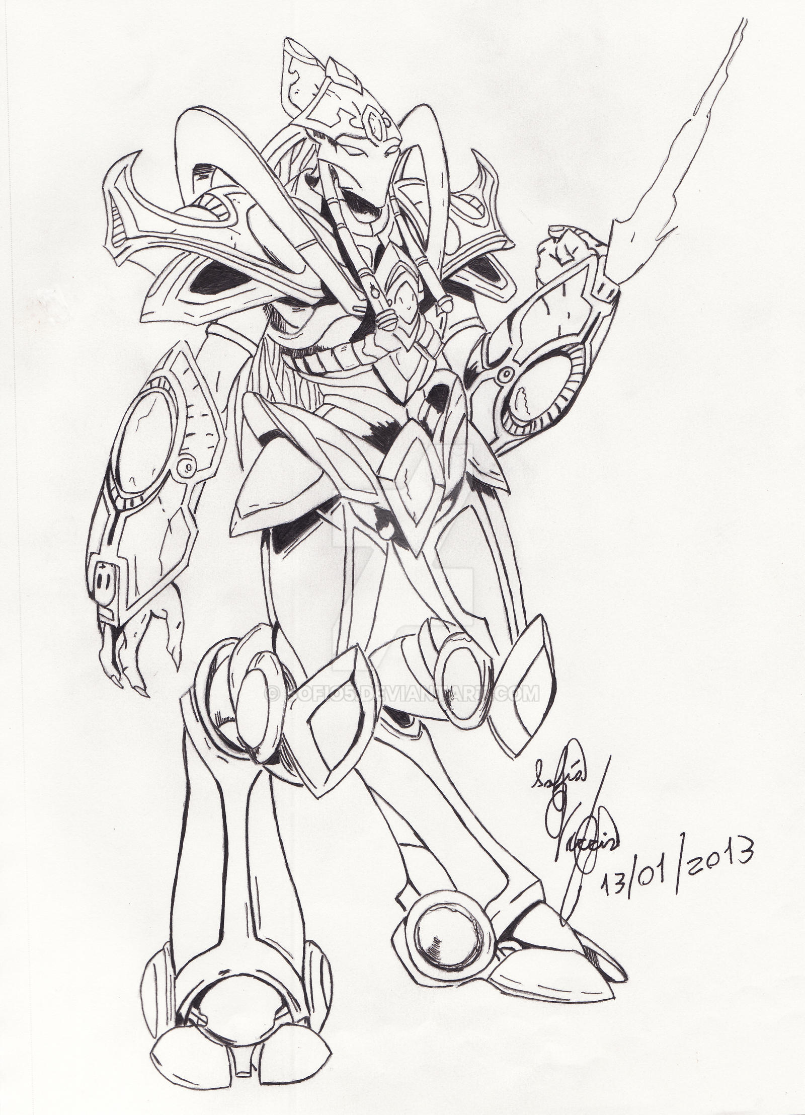 Protoss Starcraft by sofio5