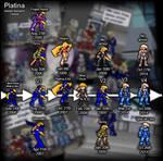 Platina's Sprite Evolution by IrregularSaturn