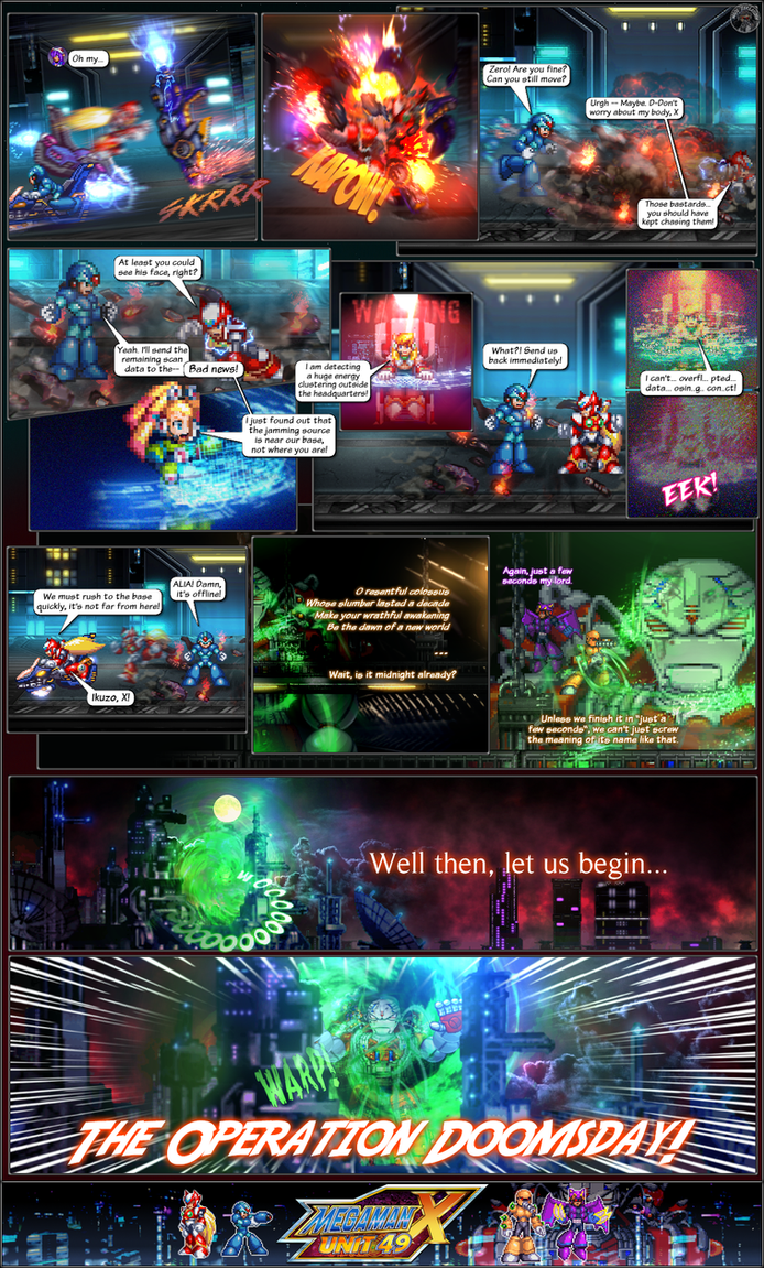 MMX:U49 - Prologue: Doomsday (Page 3) by IrregularSaturn
