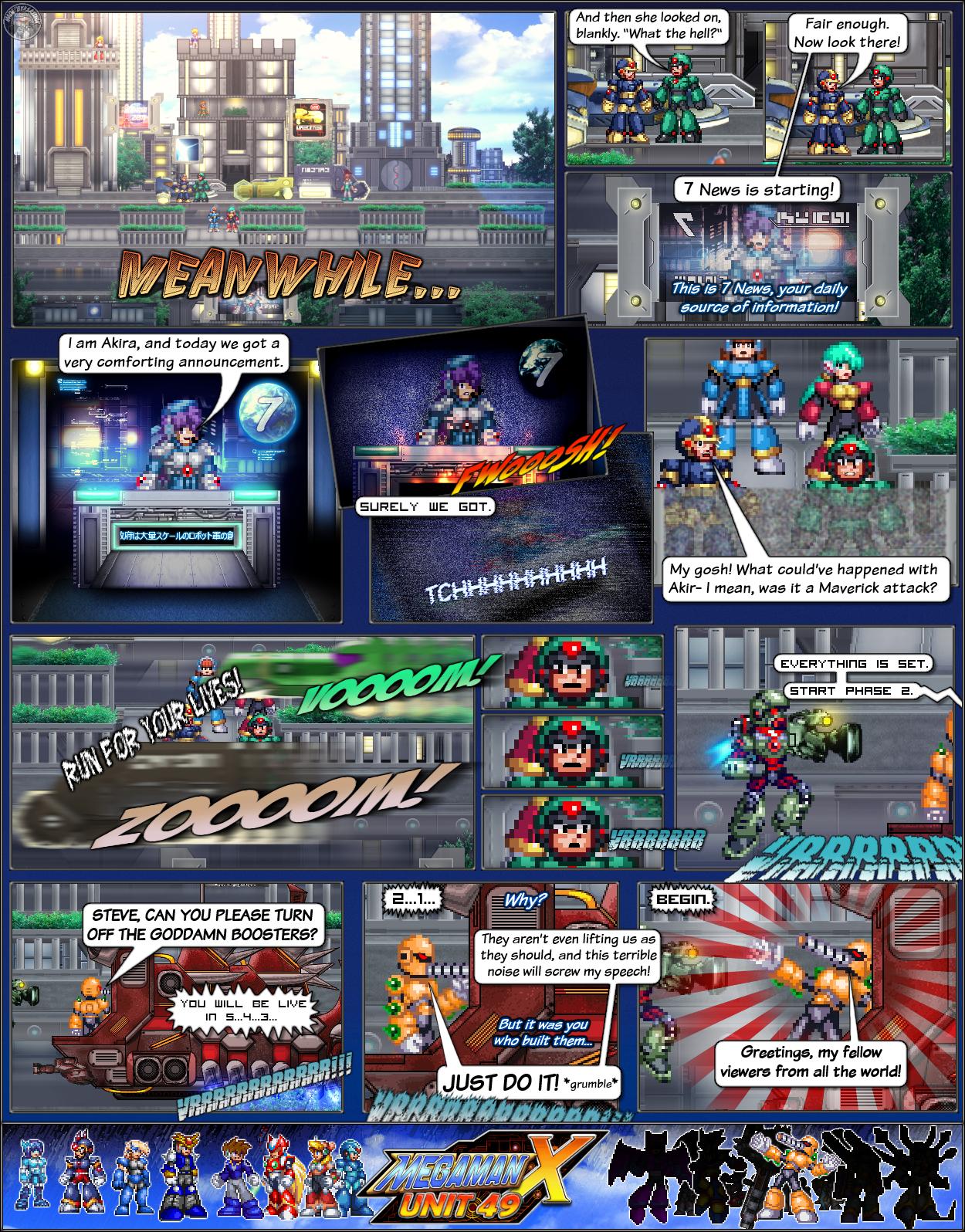 MMX:U49 - S1Ch4: Parade (Page 1) by IrregularSaturn