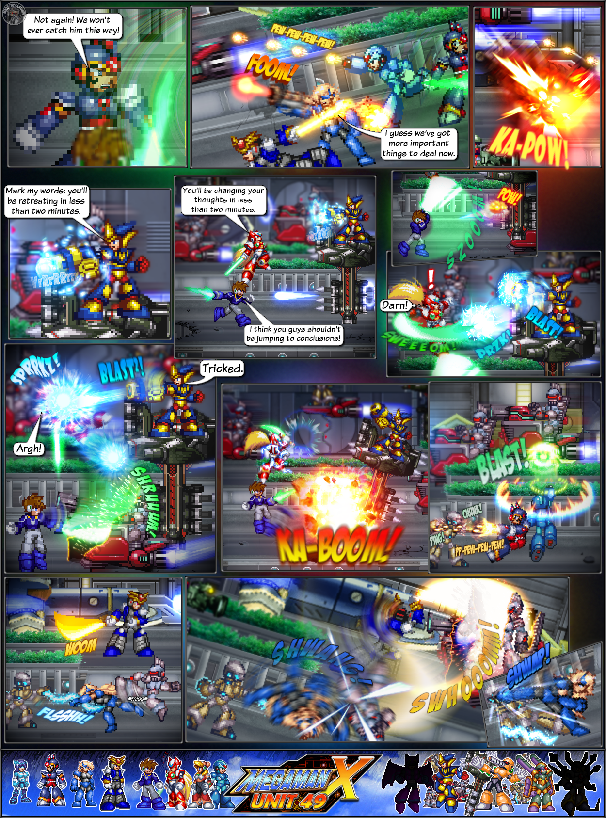 MMX:U49 - S1Ch4: Parade (Page 5) by IrregularSaturn