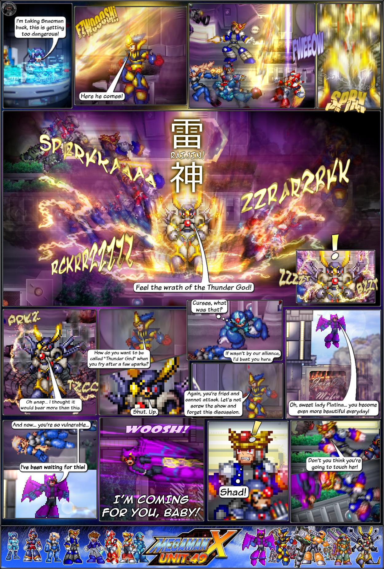 MMX:U49 - S1Ch4: Parade (Page 7) by IrregularSaturn
