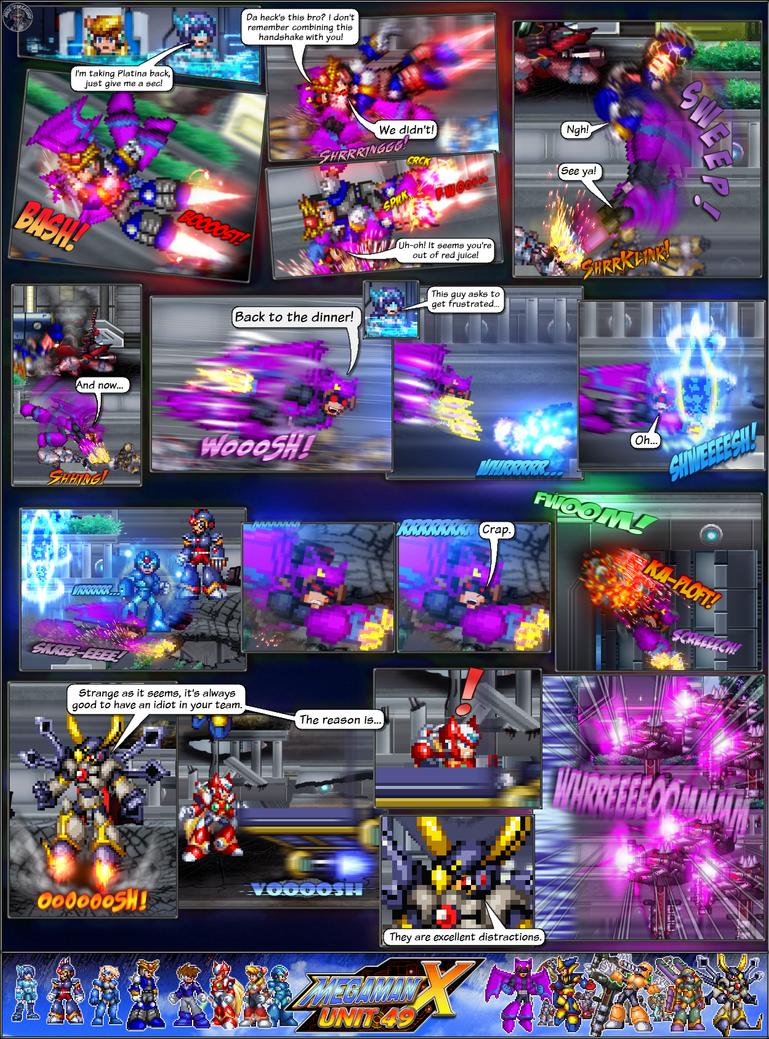 MMX:U49 - S1Ch4: Parade (Page 8) by IrregularSaturn