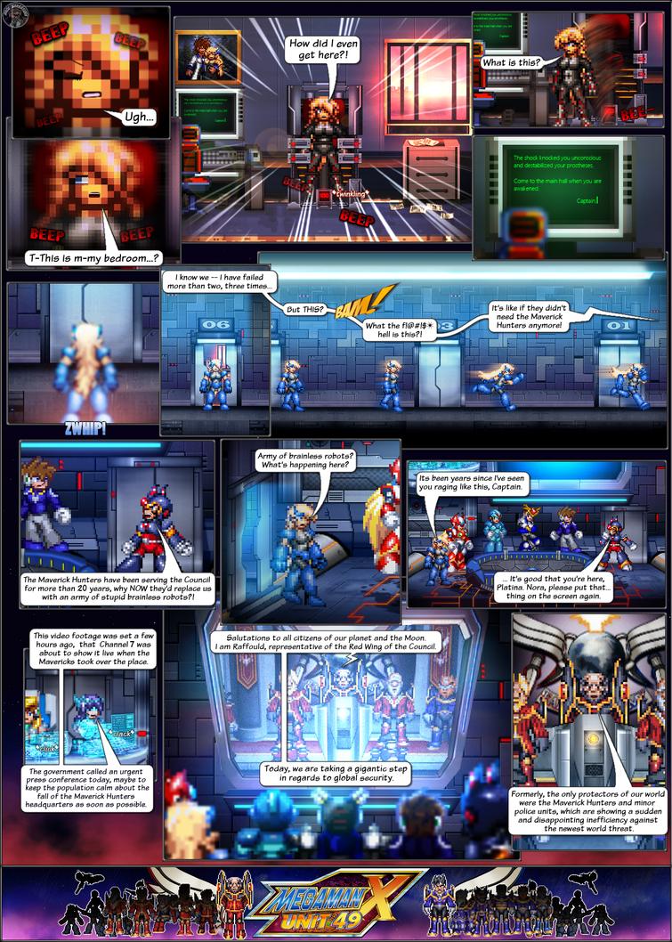 MMX:U49 - S1Ch5: Eerie Changes (Page 1) by IrregularSaturn